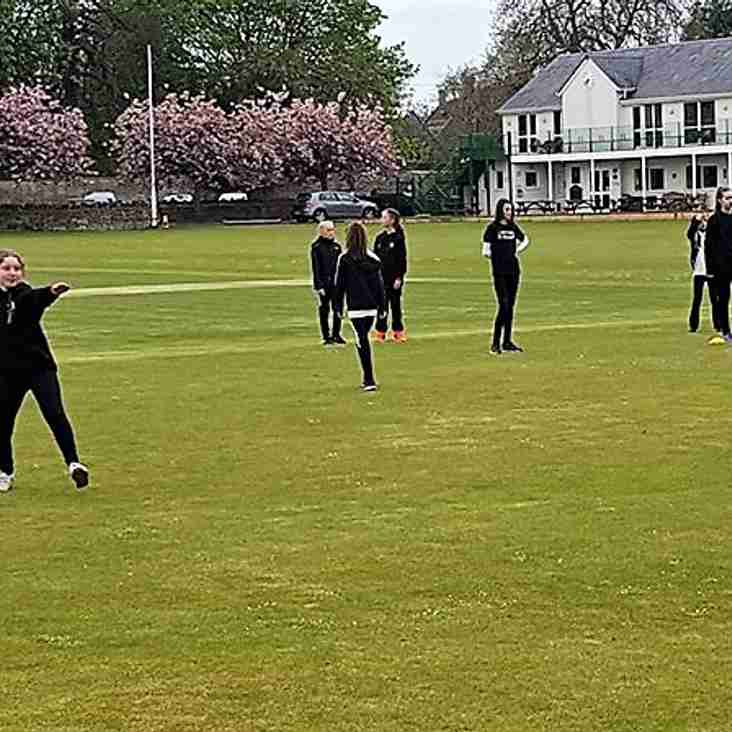 Academy girls meet for first practice session