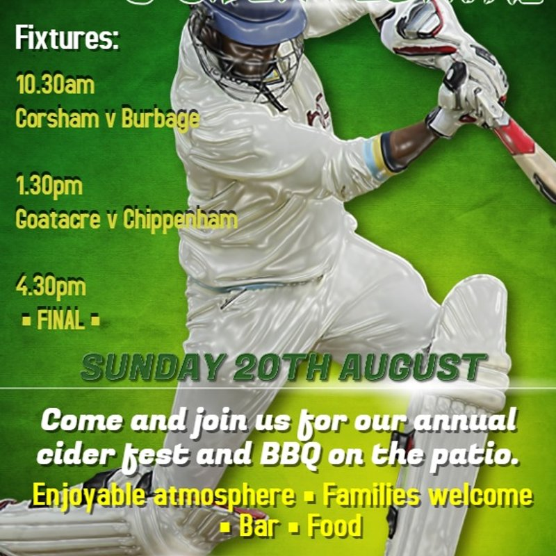 'WILTSHIRE WALLOP' T20 FINALS DAY AT STATION ROAD