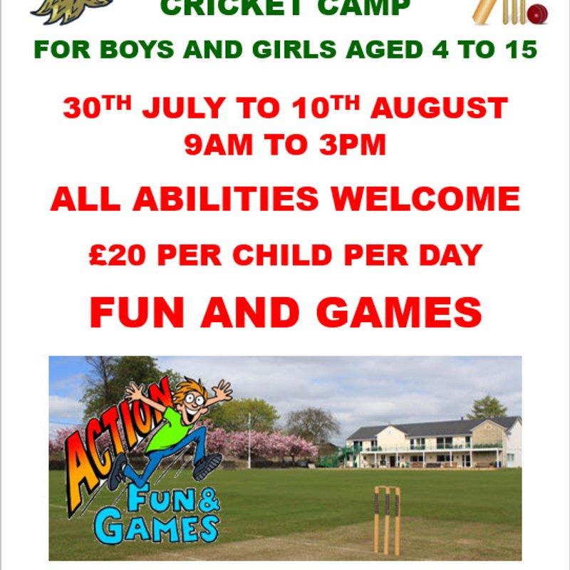 Club hosts a 'Summer Holiday Camp'