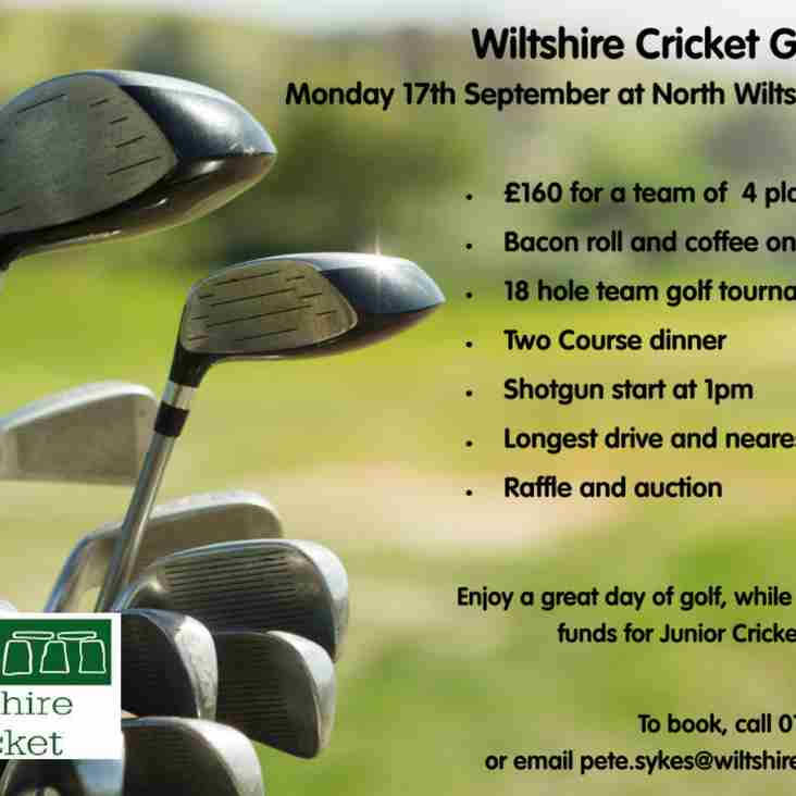 Wiltshire Cricket Golf Day - Monday 17th September