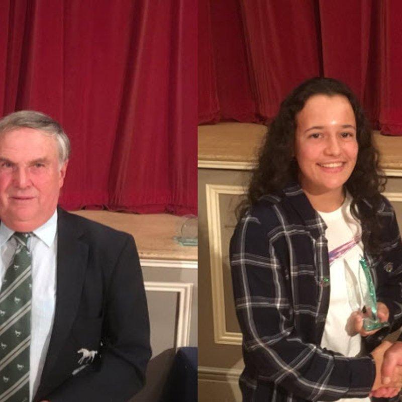 Ed Vickery and Lily Day win prestigious awards at Wiltshire Cricket Presentation Evening