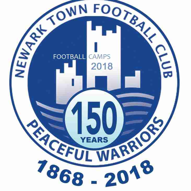 Newark Town FC Football Camps 2018
