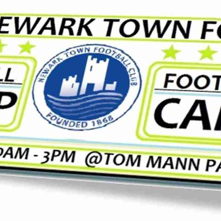 NTFC May Half term football camp...