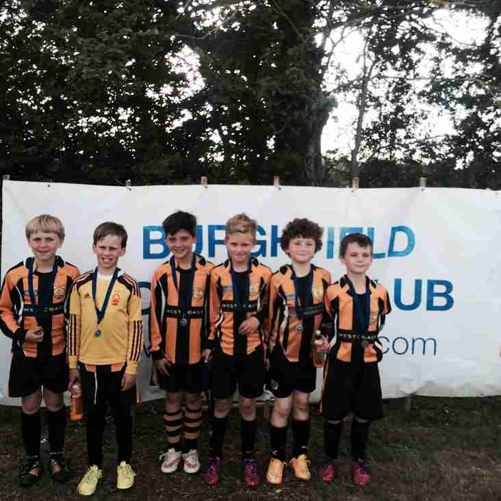 Rotherfield Bees give great account at Burghfield Tournament