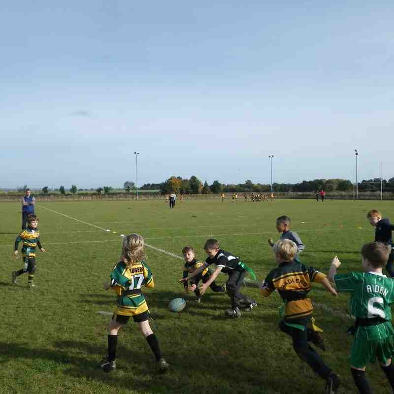 u7's training 25th October