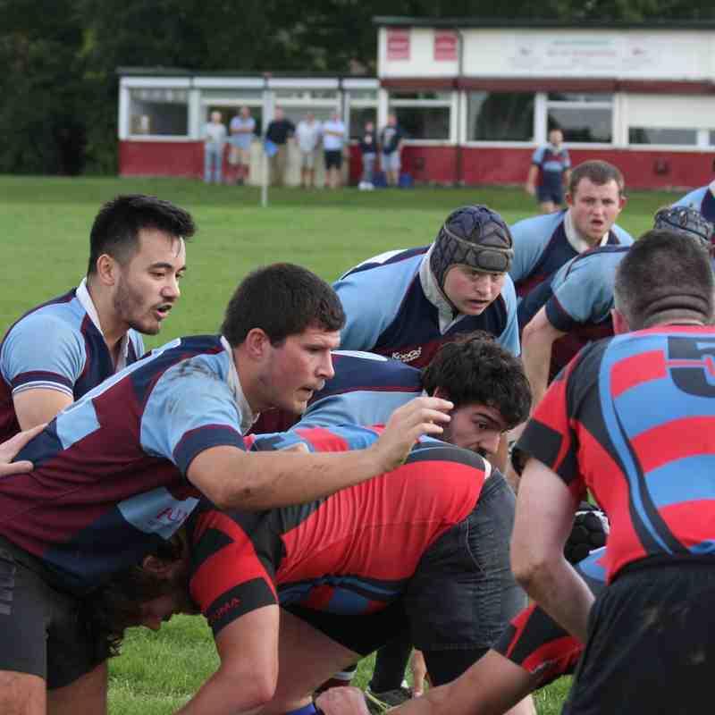 1st XV vs Hillingdon Abbots