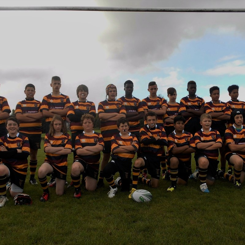 Under 14s lose to Frampton Cotterell 12 - 17