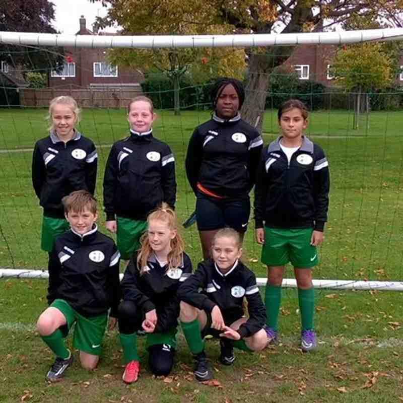 U12 CB Hounslow Utd girls