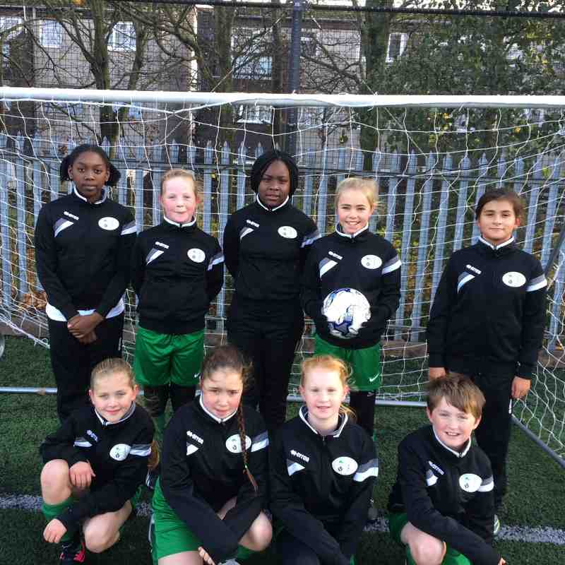 CB Hounslow under 12 girls
