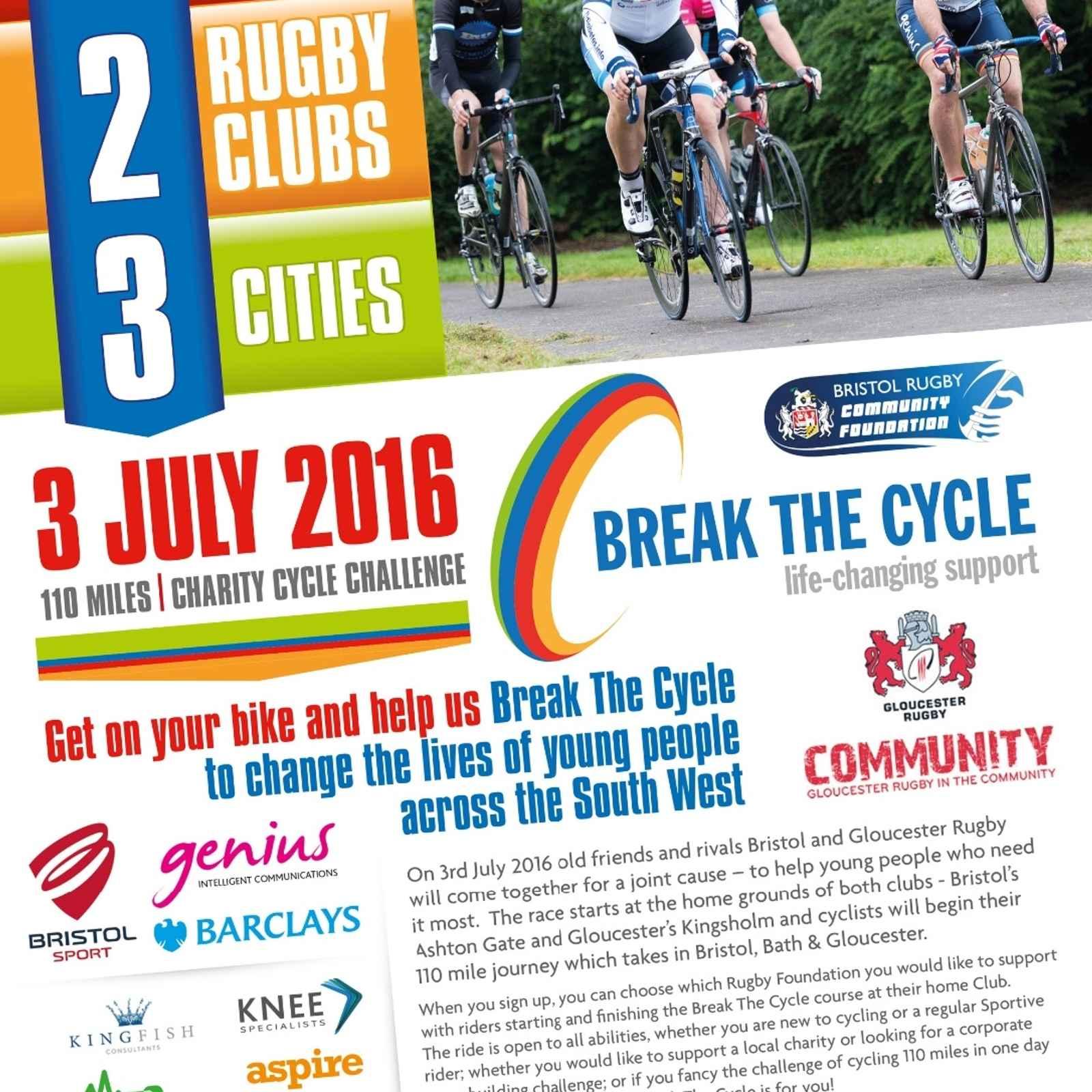 Break The Cycle - Charity Bike Ride