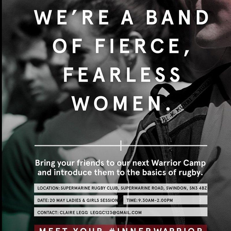 Ladies/Girls Tag to Tackle #Innerwarrior