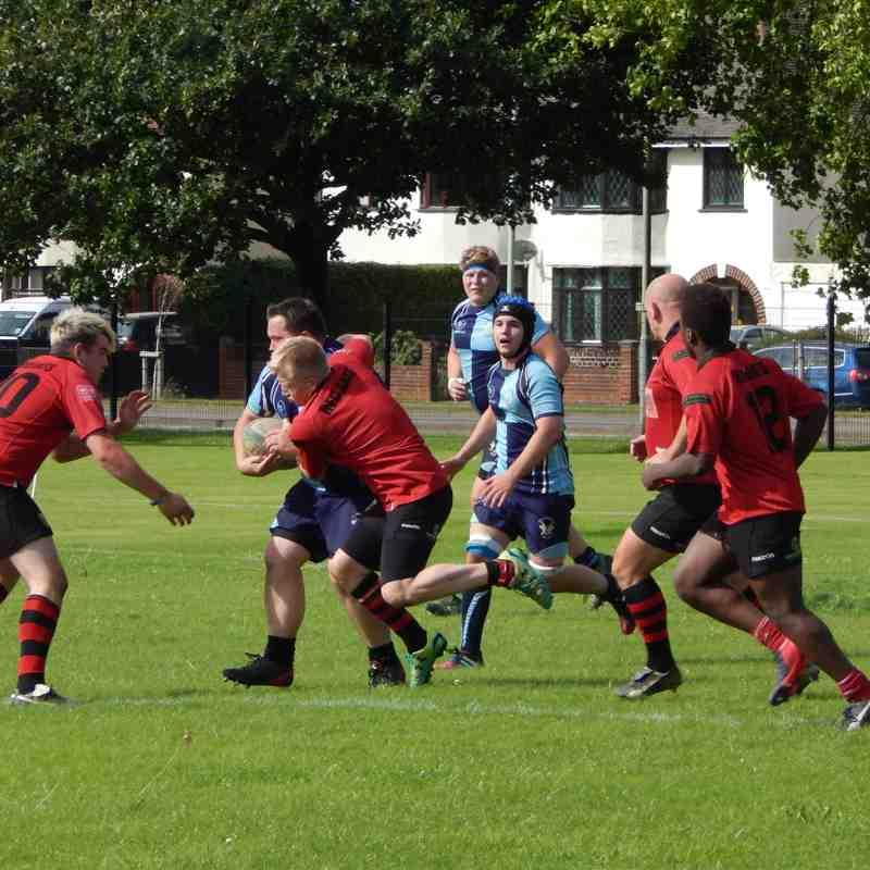 Senior Mens vs Spartans RFC