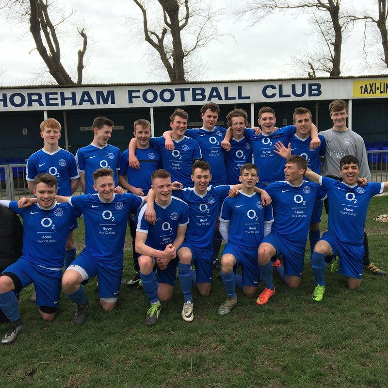 Shoreham U18's -  Back to Back to Back wins against Wick FC