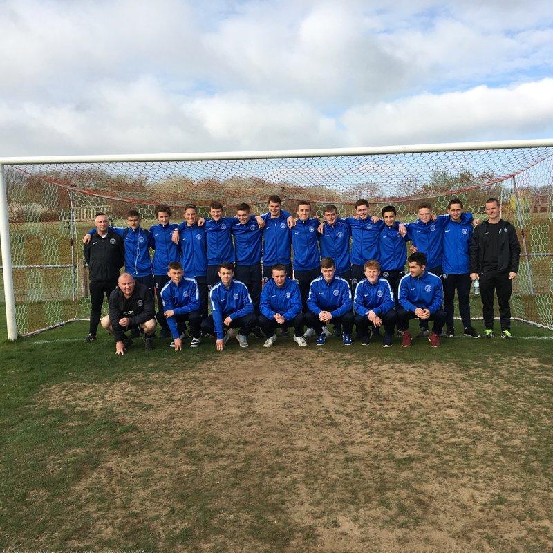 Shoreham FC U18s beat Arundel FC 0 - 1
