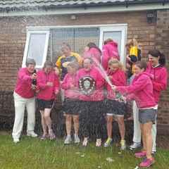 Now CBHCC Ladies are League Champions!