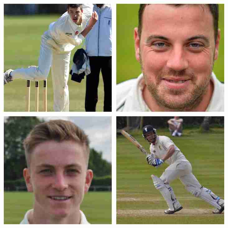 Four named in first Cheshire squad