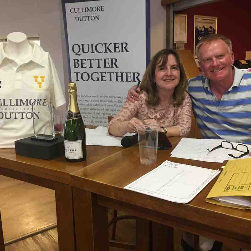 Cullimore Dutton Quiz Night, May 2017