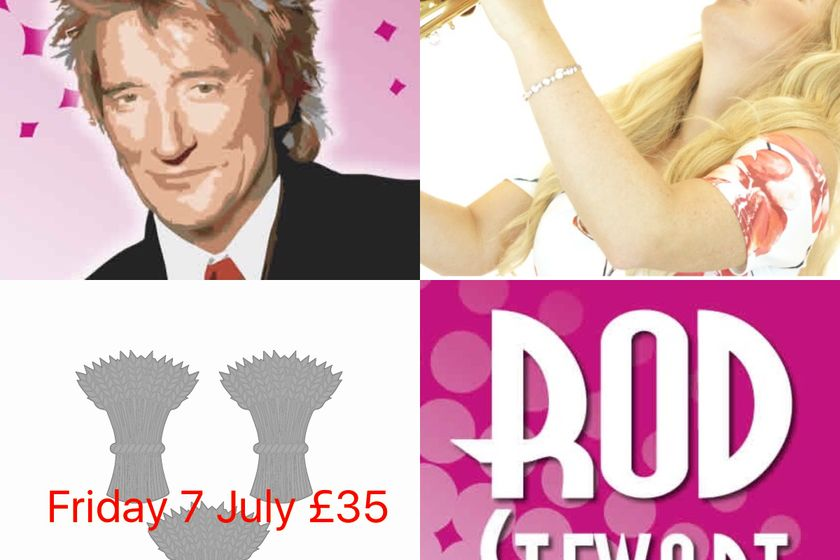 Rod Stewart event sold out - register on waiting list