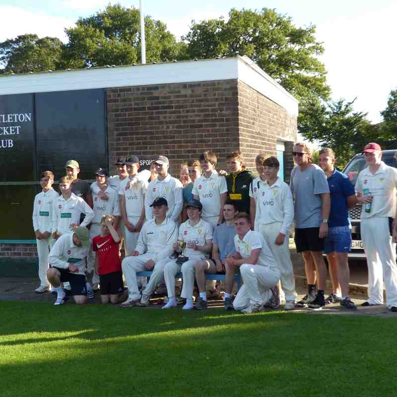 Jack Mckenzie Memorial Match, Christleton CC, 28 Aug 2017