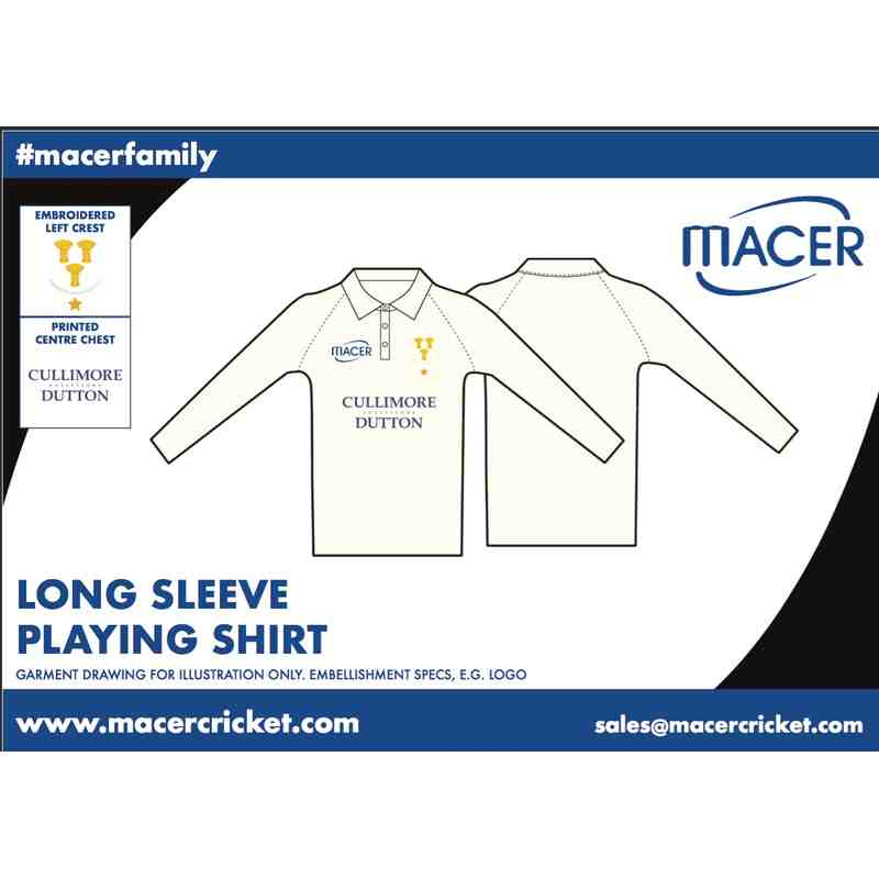 CBHCC Long sleeve playing shirt