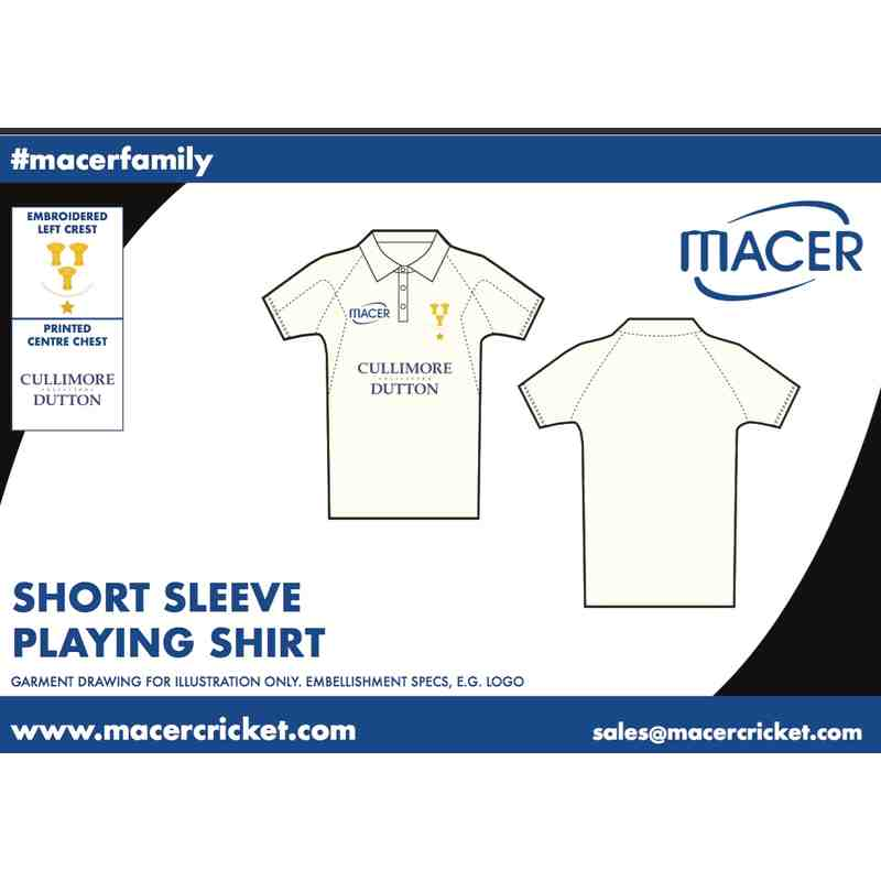CBHCC Short Sleeve Playing Shirt
