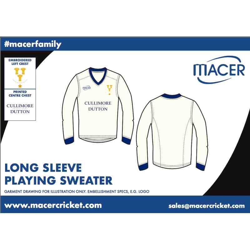 CBHCC Long sleeve playing sweater