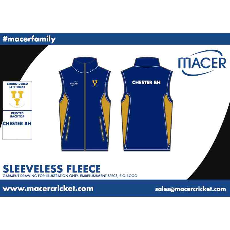 CBHCC Sleeveless Fleece