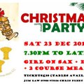 CBH Christmas Party, Saturday 23 December. Book now!
