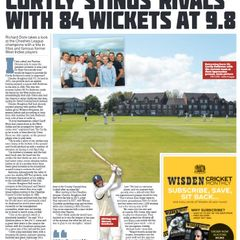 CBH 'Spotlight Club' in The Cricket Paper, 2 February 2018