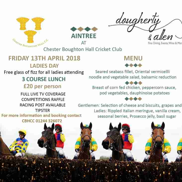 Lunch at CBH, Aintree Ladies Day, Friday 13 April
