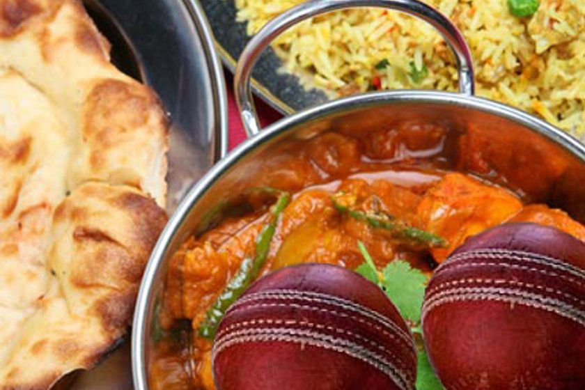 Curry night this Saturday, after the cricket