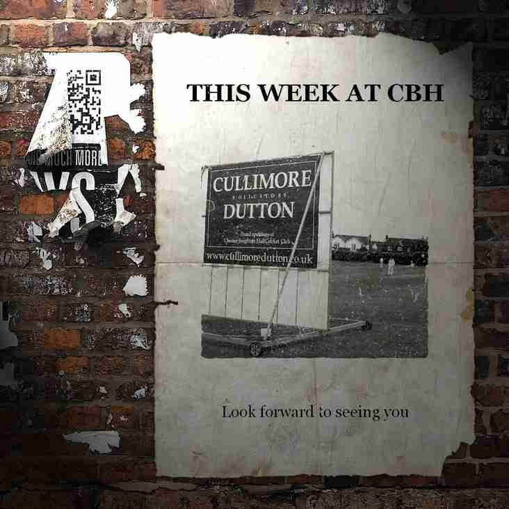 This week at CBH