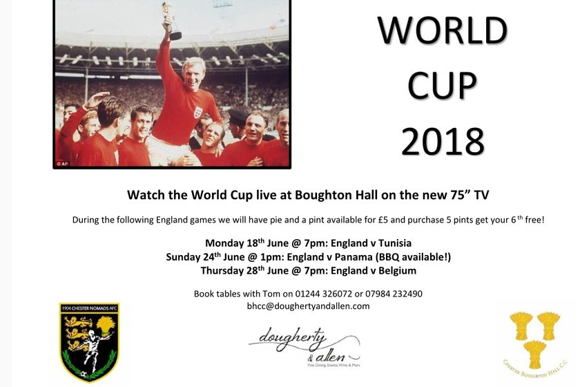 Standby for the World Cup!