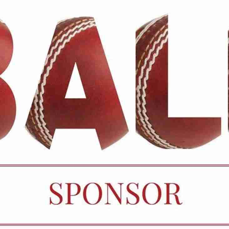 Many thanks to this weekend's ball sponsors