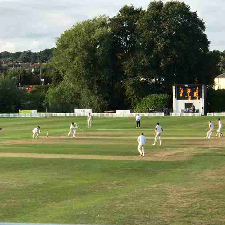 Rick in the runs as Cheshire make inroads on day one