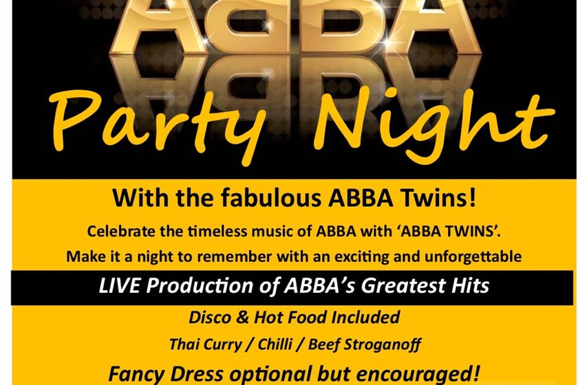 ABBA Party Night, Friday 23 November
