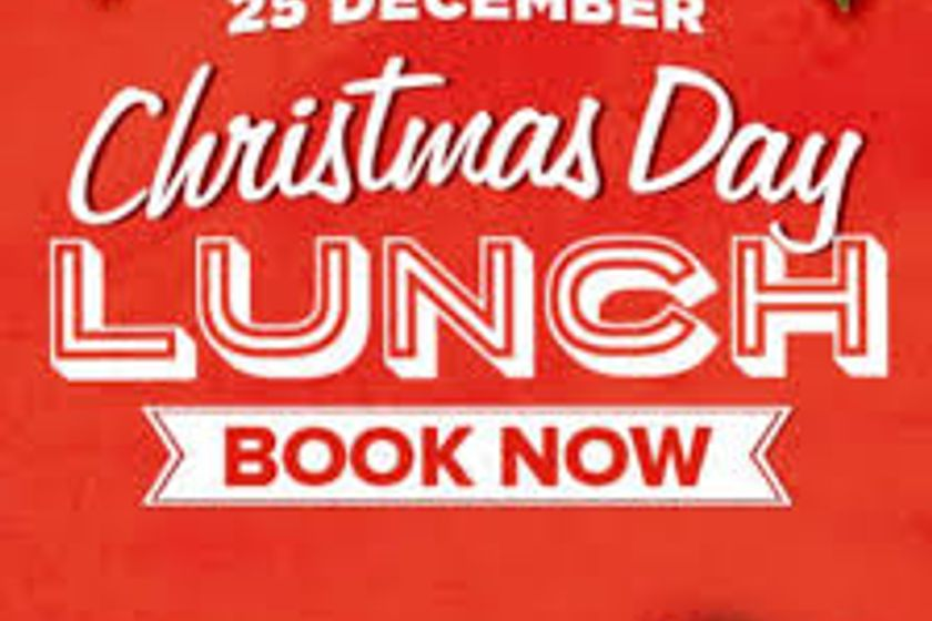 Limited number of spaces left for Christmas Day Lunch