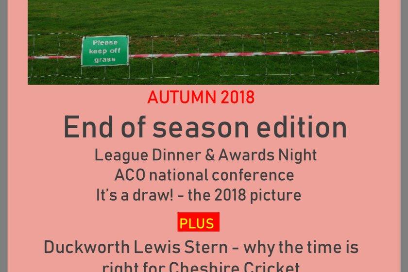 League Newsletter, November 2018