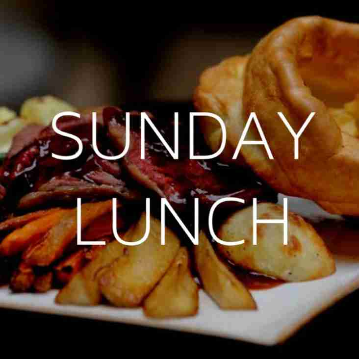 Sunday lunch update