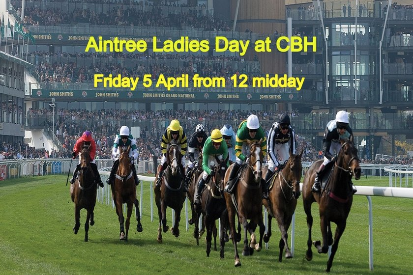 Join us for Aintree Ladies Day Lunch at CBH