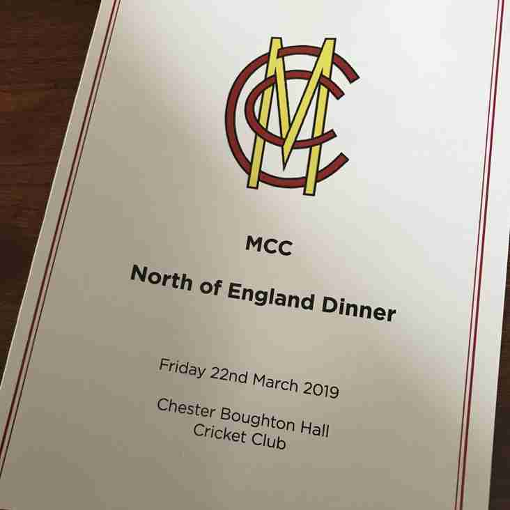 MCC North of England Dinner held at CBH