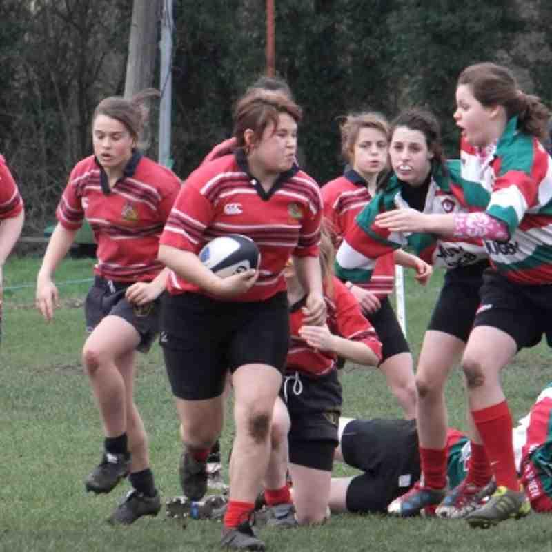 Manchester Girls U15s v Tyldesley Sunday 11th March 2012
