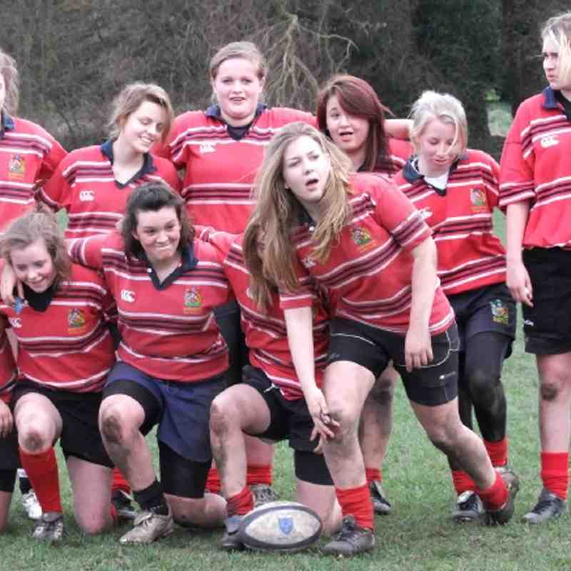 Manchester Girls U15s v Tyldesley Sunday 11th March 2012