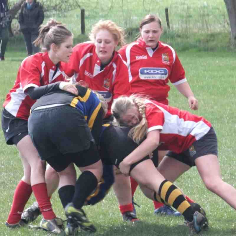 Manchester Girls U18's v West Park Leeds Sunday 15th April 2012