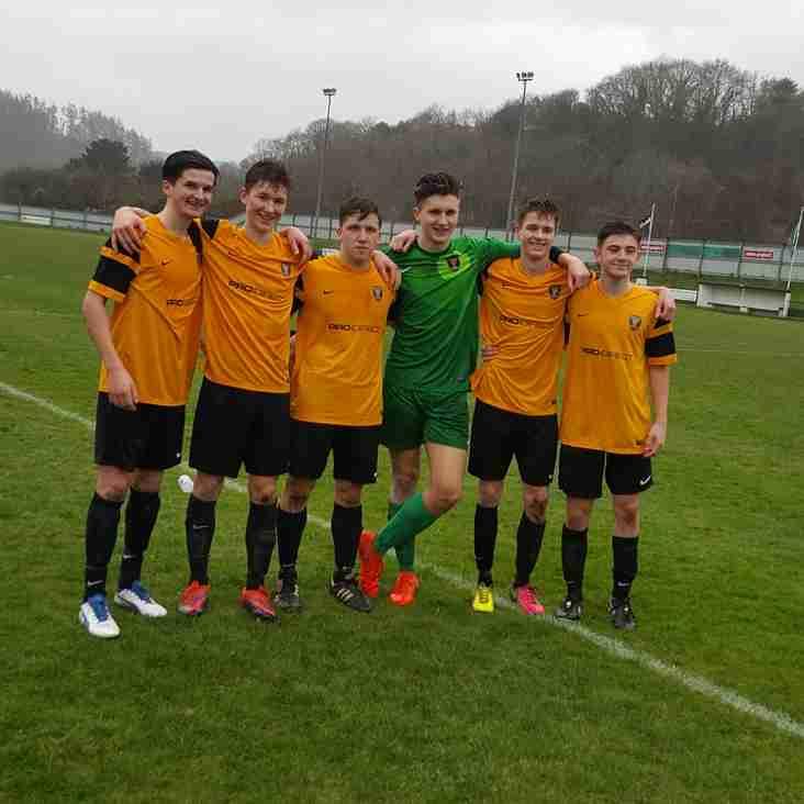 6 Camels Star In Cornwall U18 Semi Final Victory Against Durham !