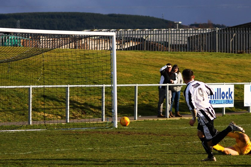 Press & Journal Scottish Highland Football League, Saturday 18th March 2017, Keith v Fraserburgh, Kynoch Park, Keith