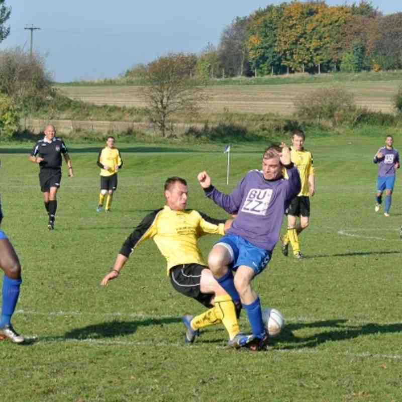 5. Crown Scissett vs HD Sports Bar (A) 21 October 2012. Landlord Cup (L3-2)