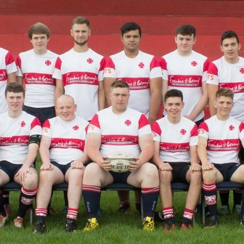Under 18s  beat Cartha 41 - 12