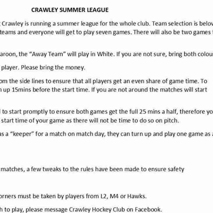 CHC Summer league