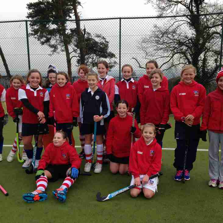 Sutton Valence Under 12 Girls to the end of season Championships‏